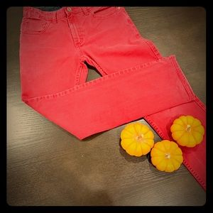 Boys Hawk red jeans